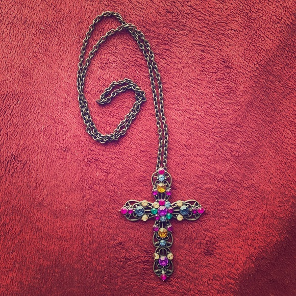 Forever 21 Jewelry - Cross Necklace